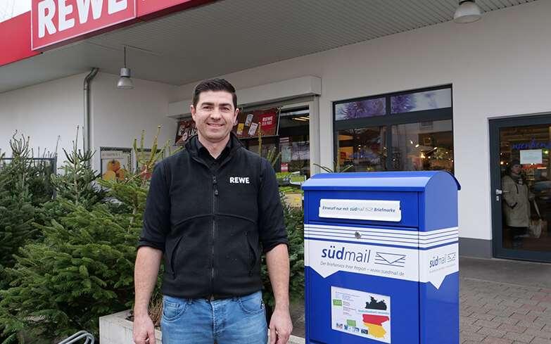 Südmail eröffnet weitere Verkaufsstelle