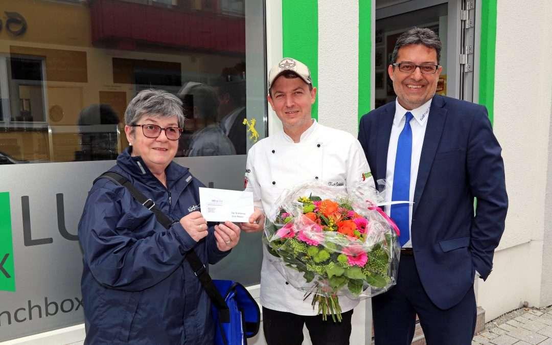 Kurt Schökle gewinnt Südmail-Blumenstrauß