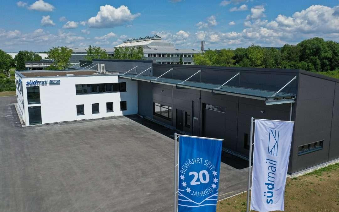 Blaue Post öffnet ihre Pforten – Neubau und 20. Geburtstag von südmail