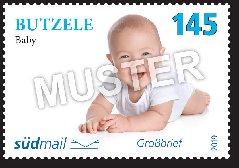 Markenserie Schwäbische Mundart – Großbrief – 10er Bogen im Abonnement