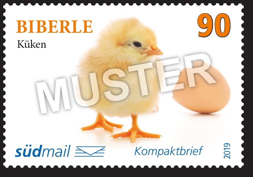 Markenserie Schwäbische Mundart – Kompaktbrief – 10er Bogen im Abonnement