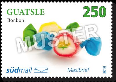 südmail Briefmarke Schwäbische Mundart Maxibrief