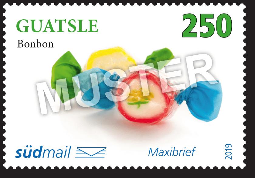 Markenserie Schwäbische Mundart – Maxibrief – 10er Bogen im Abonnement