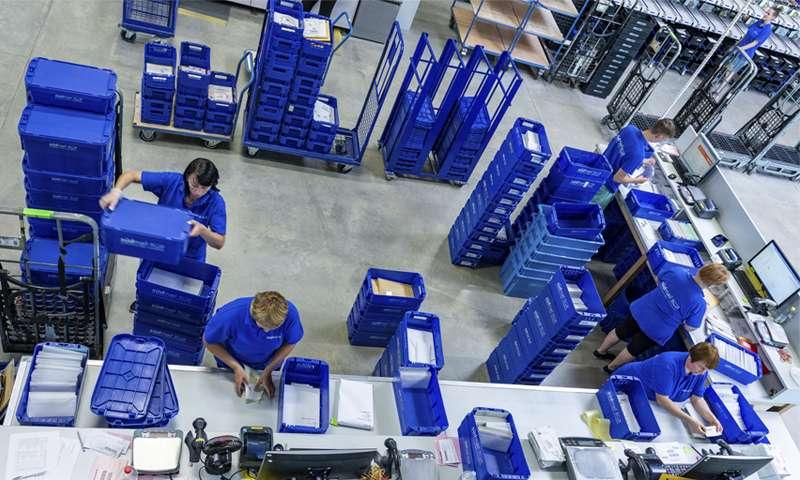 Südmail bezieht neues Logistikzentrum in Weingarten