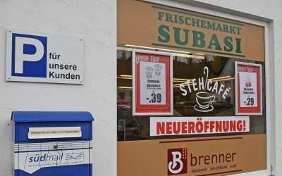 Link südmail Briefkasten bei dem Frischemarkt SUBASI