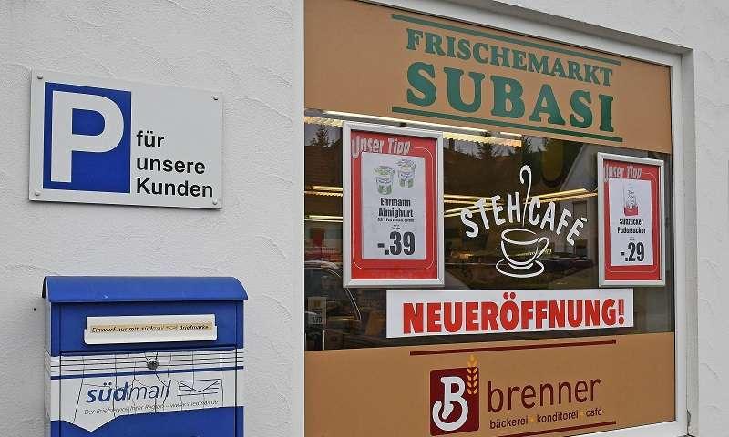 Neue südmail Verkaufsstelle ind Schwendi-Schönebürg