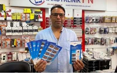 Ajay Mahajan in Dippy´s Handyklinik